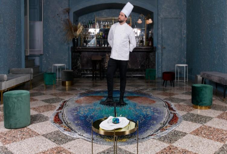 Sitap Carpet Couture Italia, Chef Marco Pedron, Design, Milano, Chef, Tappeto