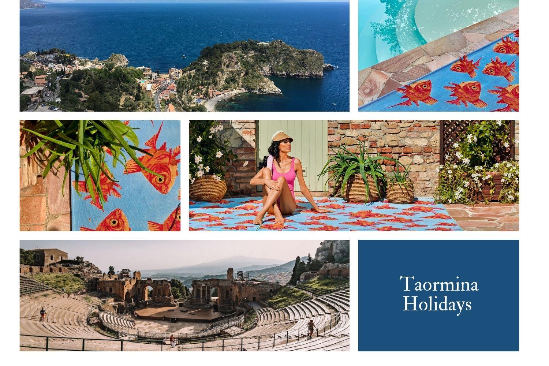 Sitap Carpet Couture Italia, Taormina Holidays #SitapEstateItaliana, Carol, Rug, In&outdoor, Color, Officina del Design