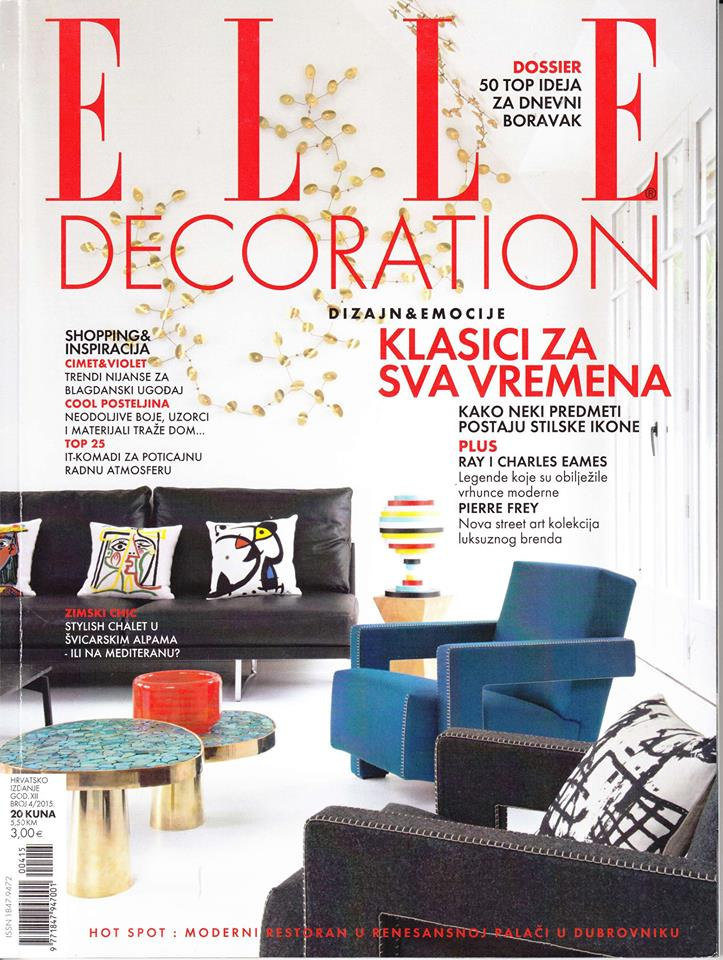 Elle decoration Croatia 22 March 2016