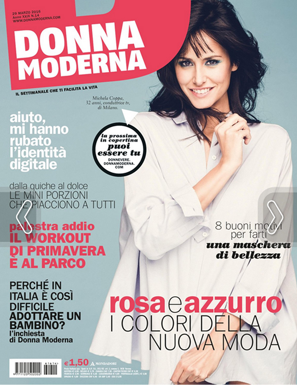 Donna Moderna 23 March 2016