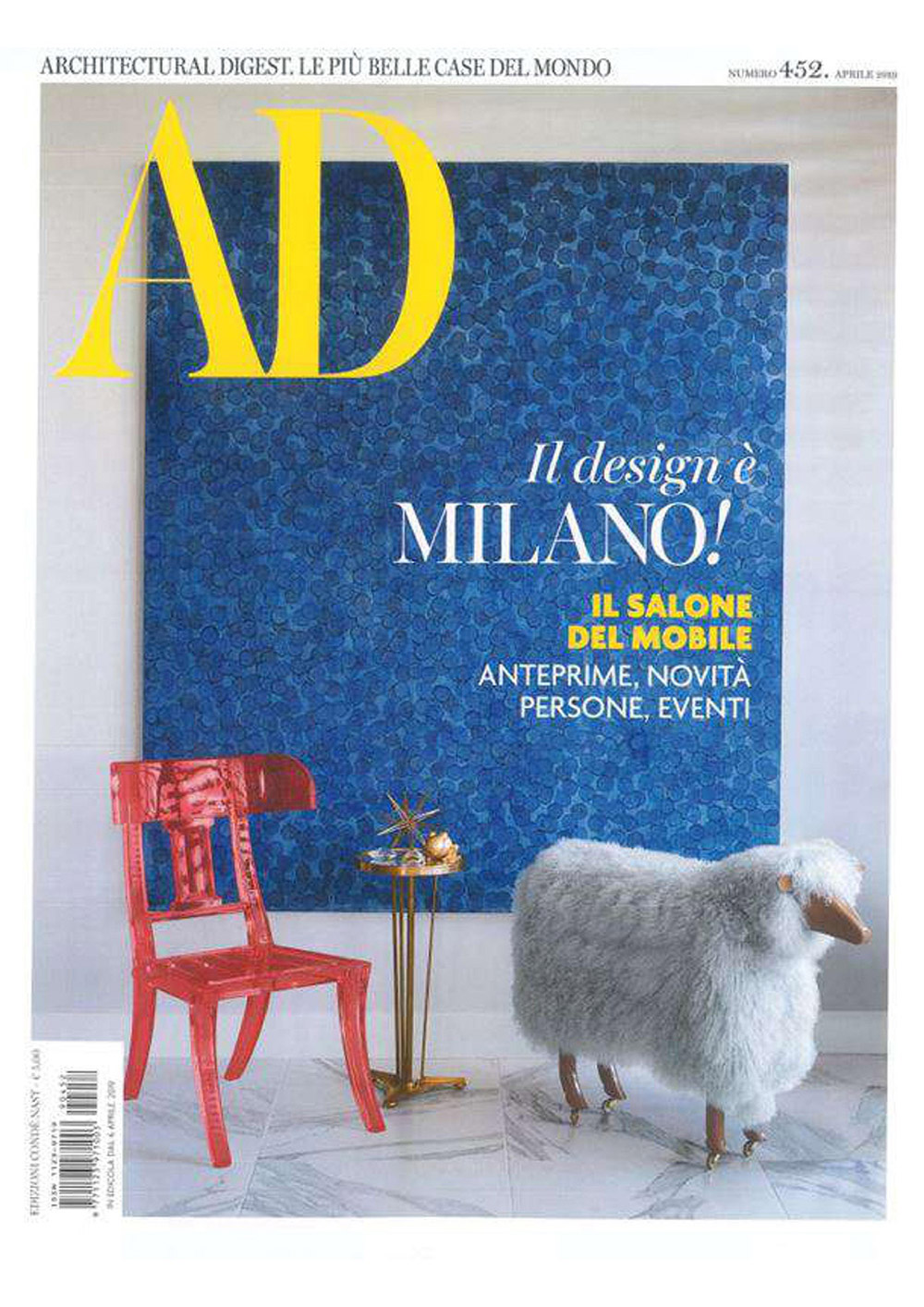 AD Architectural Digest April 2019