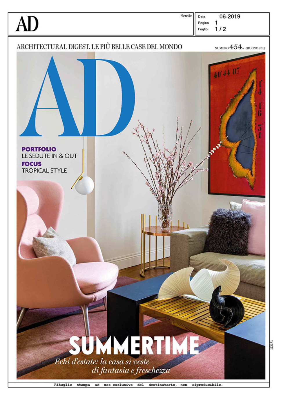 AD Architectural Digest June 2019